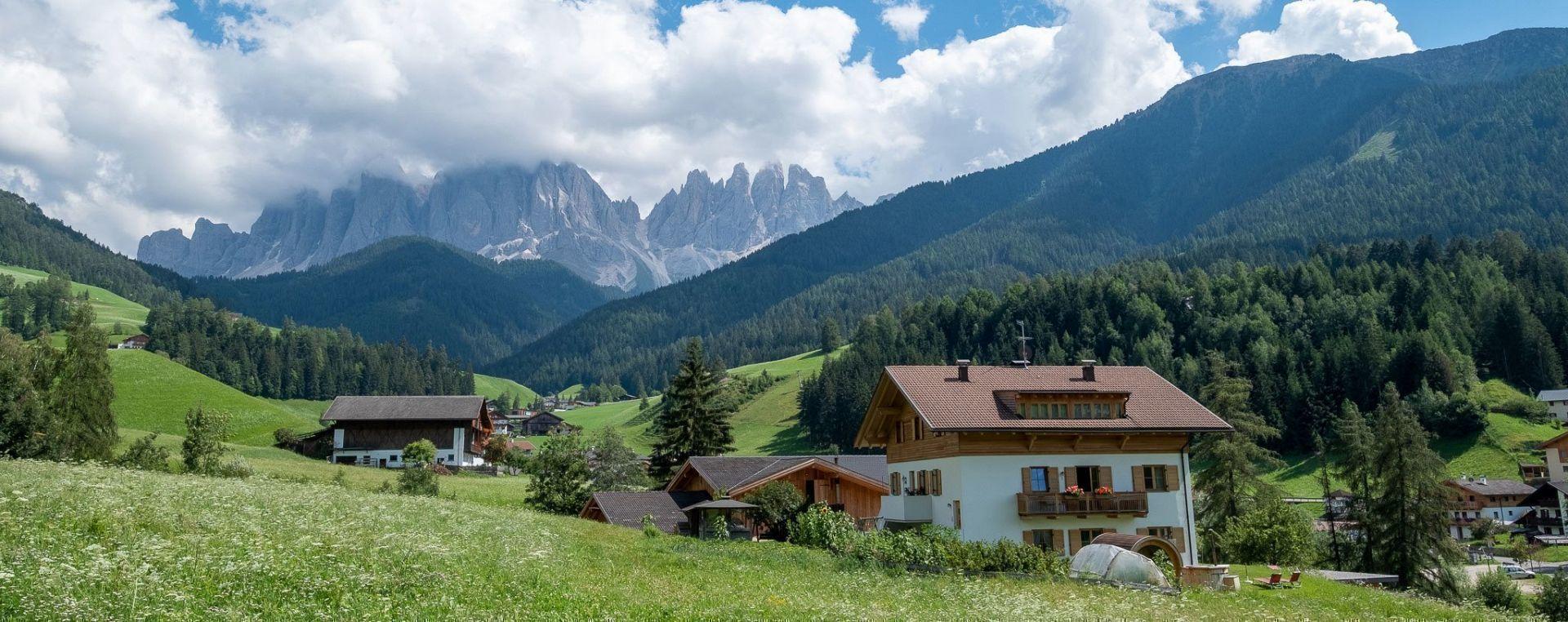 Urlaub auf dem Bauernhof in Villnöss/Südtirol