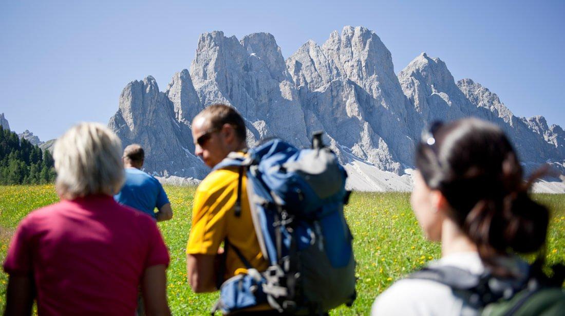 Wandern und Nordic Walking - Sommerliche Urlaubsträume im Villnösstal