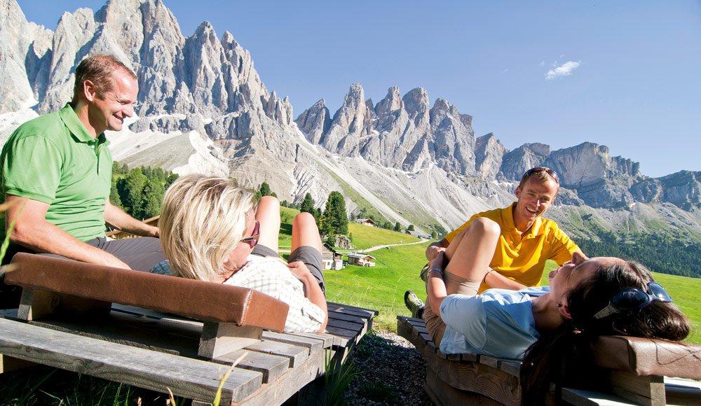 Wanderferien in Villnöss/ Südtirol – Geislerspitzen – Dolomiten